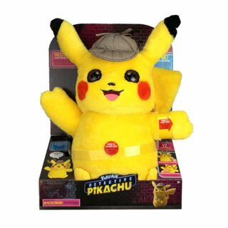 Pokémon Power Action Plüschtier Detectiv Pikachu ca. 30...
