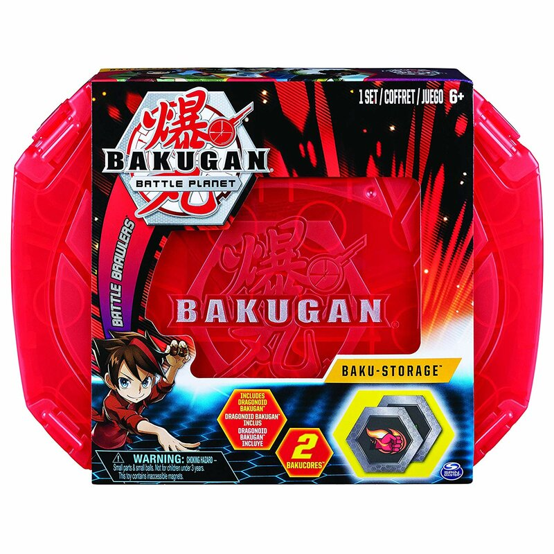 Bakugan Battle Planet - Baku-Storage Koffer in rot mit Bakugan