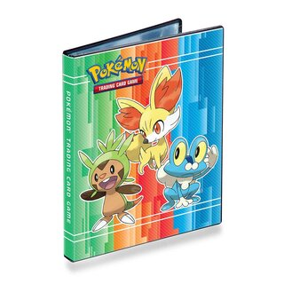 Pokemon Ultra-Pro-Binder A5 mit 80 Fächern X & Y Starter