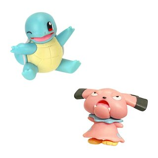 Pokemon Battle Pack 2er Figuren Set Schiggy & Snubbull