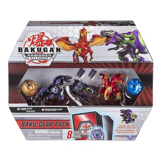 Bakugan Armored Alliance Baku-Gear Pack / Spielfguren...