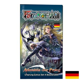 Force Of Will Karten Booster Pack - Alice - Attoraktia -...