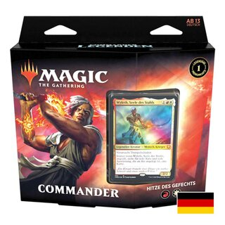 Magic the Gathering Commander Legenden Commander Deck:...