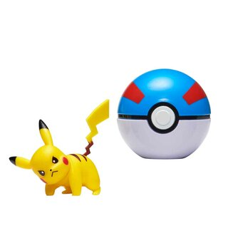 Pokemon Pokeball Clip ´N´ GO Pikachu im Superball