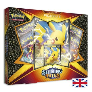 Pokemon Karten Shining Fates Pikachu-V Collection EN