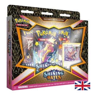 Pokemon Karten Shining Fates Pin Collection Bunnelby EN