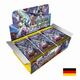 Force Of Will Karten Booster Display - Saga - Der...