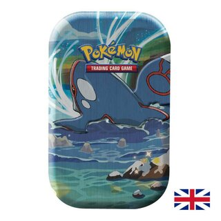 Pokemon Karten Mini Tin Box Shining Fates Kyogre EN