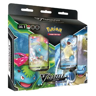 Pokemon Karten V Battle Deck Bundle Venusaur V &...