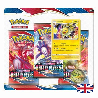 Pokemon Karten SWSH05 Sword & Shield Battle Styles 3er -...
