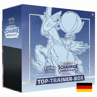 Pokemon Karten Top Trainer Box Schwert & Schild Schaurige...